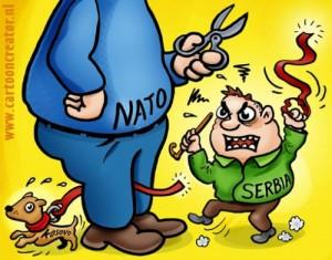 """NATO ja kputi Serbisë """"muhabetin"""" me Kosovën"""