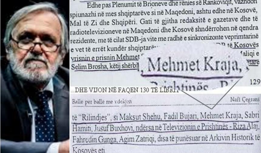 Ekskluzive – Mehmet Kraja, shpijun i UDB-së (dokument)   Presheva Jonë