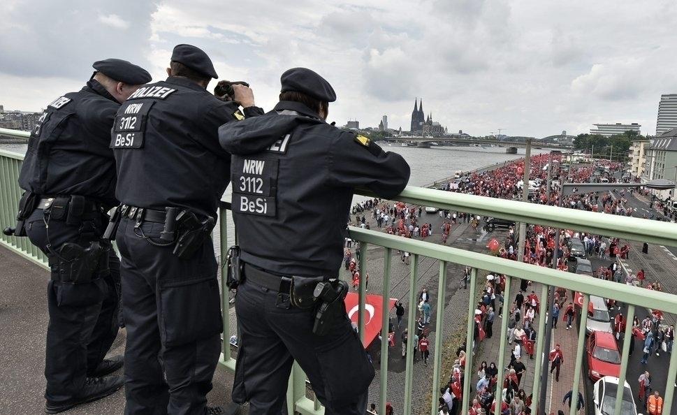 Germany Turkey Erdogan Rally