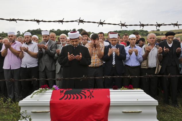 Kosovo Munich Shooting Funeral