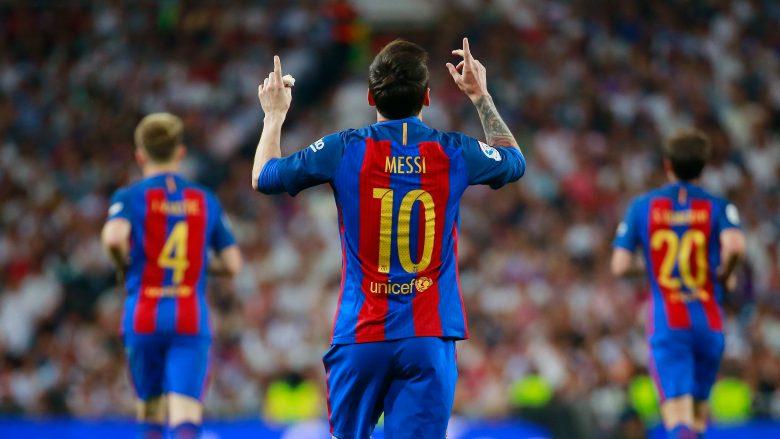 Uniku Messi është gjithmonë aty për të shpëtuar Barçën   Bernabeu i përulet magjisë së tij