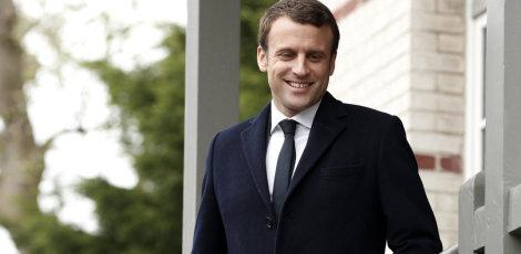 Emmanuel Macron  fitues i zgjedhjeve presidenciale në Francë