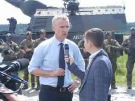 Stoltenberg për ATSH  Shqipëria po luan rol të rëndësishëm në Aleancën e NATO s