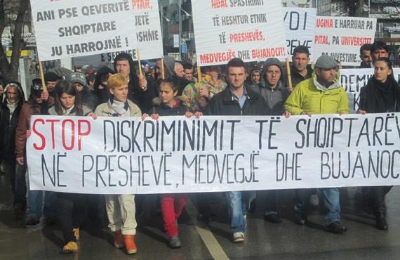 """Résultat de recherche d'images pour """"protesta ne preshevë"""""""