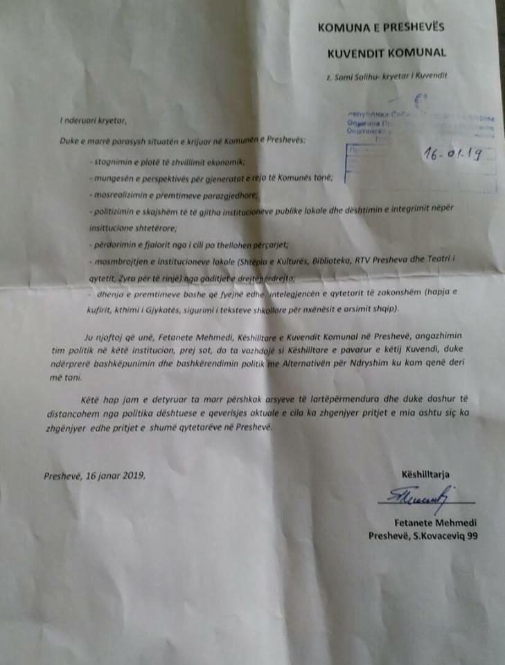 A po bie pushteti lokal ne Preshevë