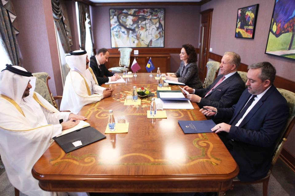 Ministri Pacolli fton homologun e tij nga Katari ta vizitojë Kosovën