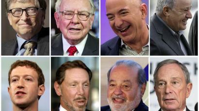 9 fakte rreth multimiliarderëve në botë
